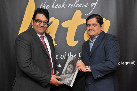 Author with Vinesh Nair