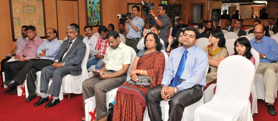 The audience at the book-launch