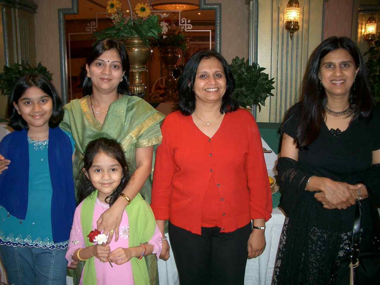 Pallavi, Shubhada, Apoorvaa, Madhuri, Amita