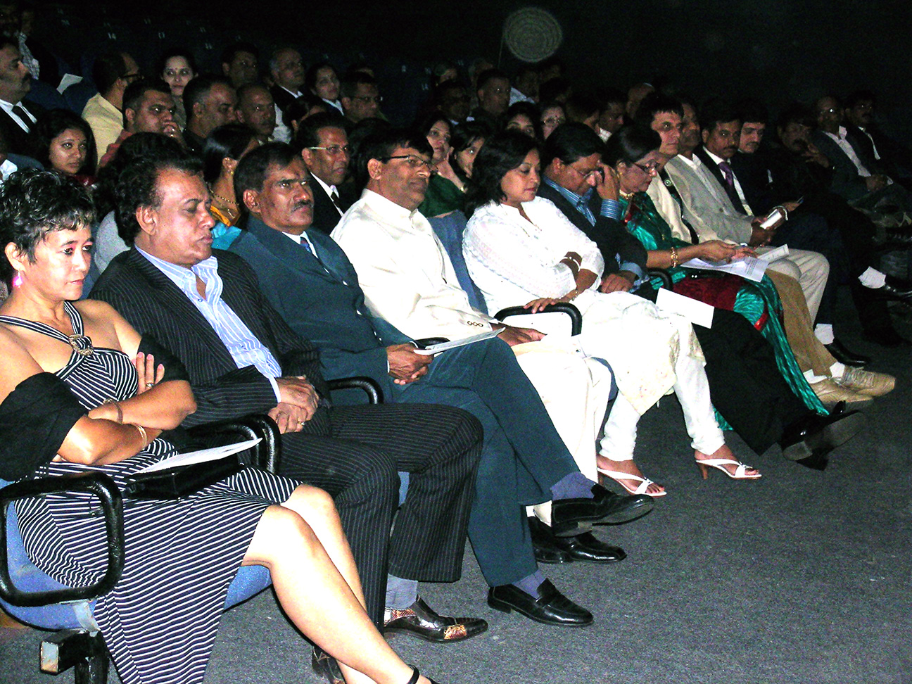Audience at the function