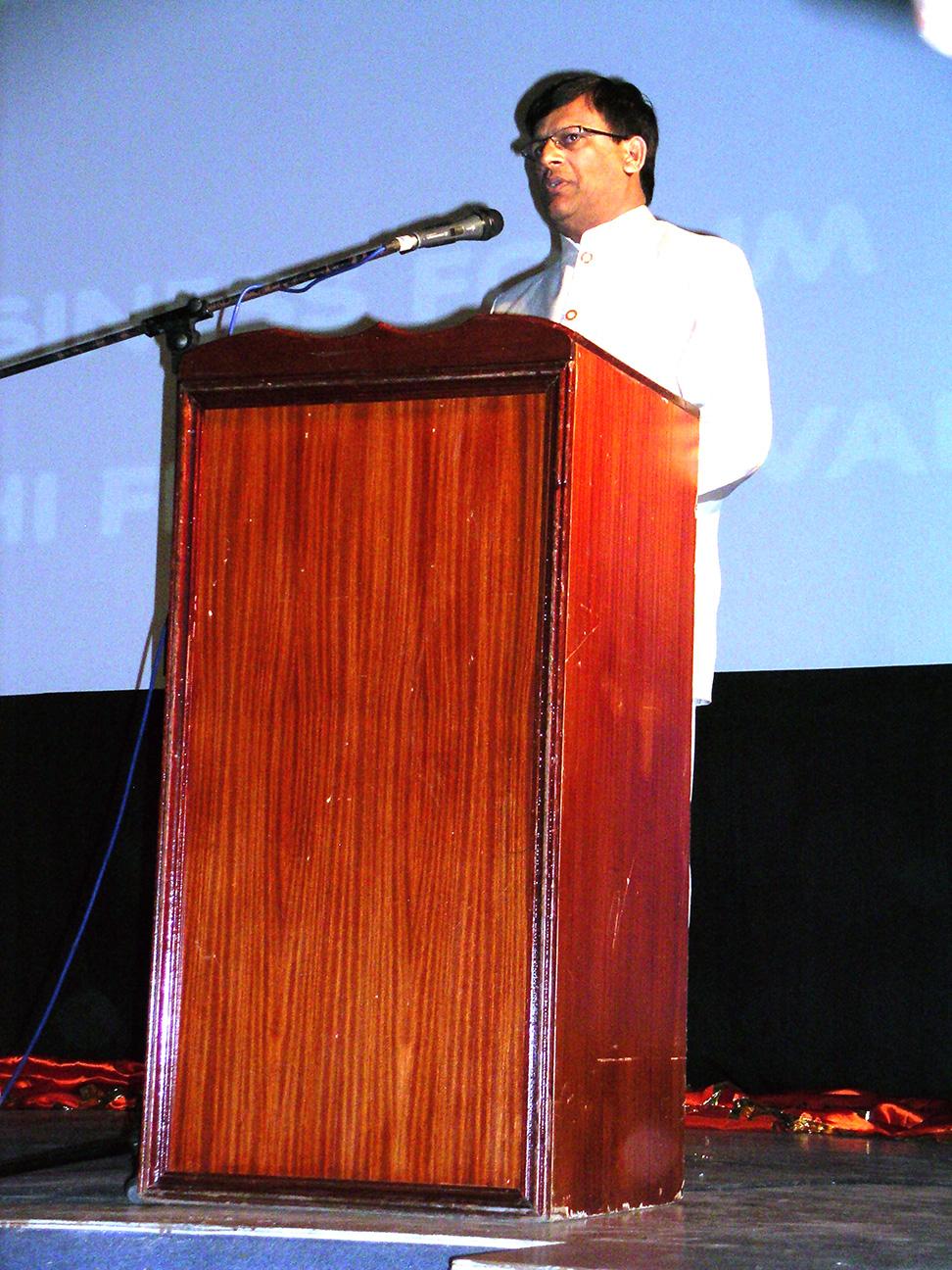Mr.Balraj Naroo, President Mauritius Maharashtra Mandali Federation