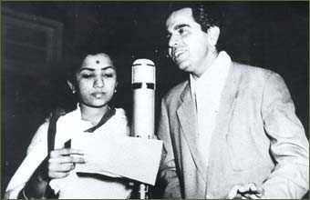 Laagi Naahi Chhoote Ram- The Musafir recording with Dilip Kumar