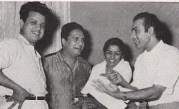Jab Jab Phool Khile - With Jaikishan, Shankar and Talat Mehmood