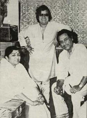 Mausam Mastana Hai- Lata with Bappi Lahiri and Kishore Kumar