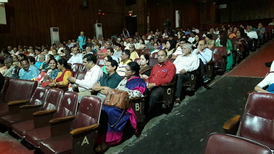 Audience in Pune\'s Tilak Smarak Mandir