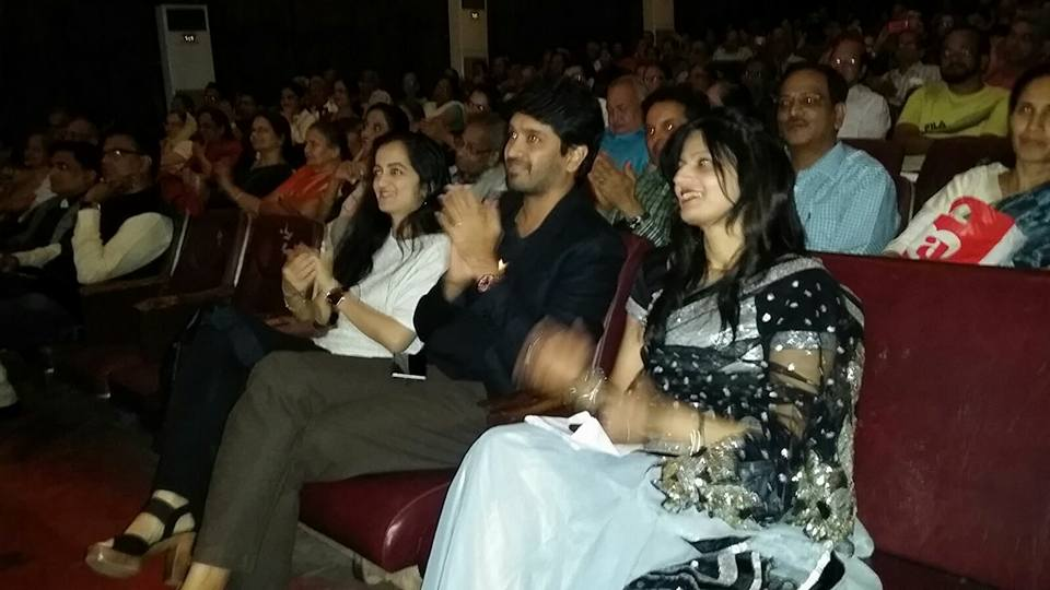 Nilesh Mohrir and Asmita Dixit in Audience