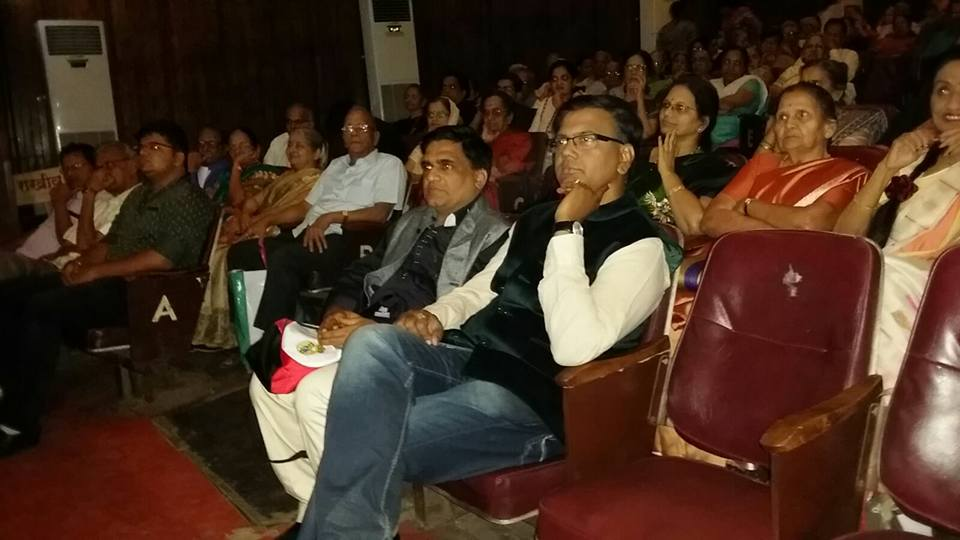 Dr. Vijay Athalye and Salil Kulkarni in audience